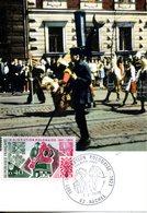 France. Carte Maximum. Immigration Polonaise Auchel. 3/02/1973 - 1970-79