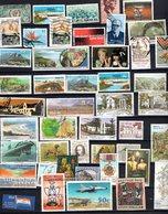 44 Timbres Afrique Du Sud Oblitérés Et 3 Vignettes  F1 - Timbres