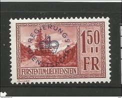 Liechtenstein. Dienstmarke, Nr. 19** Postfrisch - Servizio