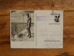 Postal Stationery, Fieldpost, Finland - Militaria