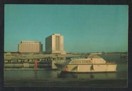 Qatar Picture Postcard Gulf Hotel Doha View Card - Qatar