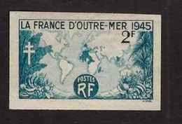 France Non Dentelé 1945 N°741 La France D' Outremer - France