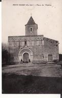 CPA 17 -- PETIT NIORT -- Place De L'Eglise - France