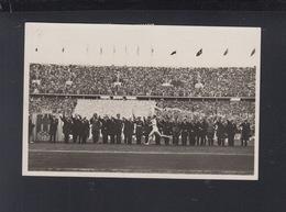 Dt. Reich Olympia 1936 AK Der Fackelstaffel-Läufer Trifft Im Stadion Ein - Olympic Games