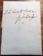 France LYON 1586 Lettre > BARTOLOMEO CORSINI, LONDON, Great Britain (68 Cover Entire Letter Prephilately Prephilatelie - ....-1700: Precursori