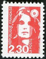 FAUX DE MARSEILLE N° 2614e 2,30 Fr Rouge Type Marianne De Briat Dentelé 11. Neuf Sans Charnière (MNH). TB - Neufs