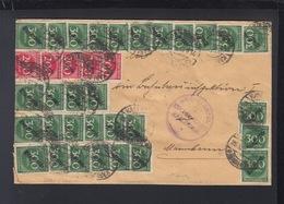 Dt. Reich Brief Reichsbauamt Karlsruhe - Storia Postale
