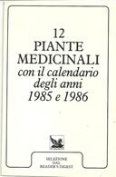 12  PIANTE  MEDICINALI  1985--1986 - Formato Piccolo : 1981-90