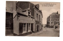 CPA 62 - Le Portel ( P De C ) La Rue De L'Aqueduc Et L'hôtel Des Bains - Le Portel