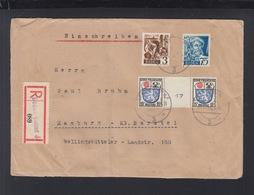 Baden R-Brief Zwischensteg-Paar MiF - Zona Francese