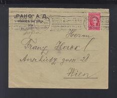 Bulgarien Brief 1926 Aufdruck Nach Wien - 1909-45 Königreich