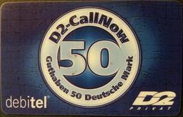 Prepaidcard Deutschland - D2 Privat - Debitel  - 02/00 - Deutschland