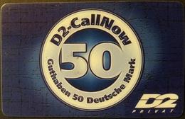 Prepaidcard Deutschland - D2 Privat - 01/00 - Deutschland