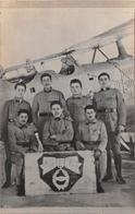 CARTE PHOTO MILITAIRE  ESQUADRILLE  PILOTE MECANICIEN  BREGUET - 1919-1938: Entre Guerres