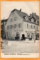Offenburg Kaufhaus Karl Worter 1907 Postcard - Offenburg