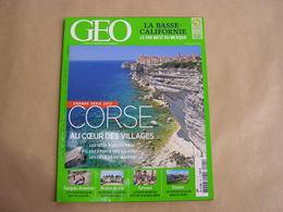 GEO Magazine N° 401 Géographie Voyage France Europe Monde Corse Turquie Arménie Bassin Minier Mexique Californie USA - Tourisme & Régions