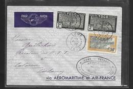 Premier Vol  LOME - COTONU . 16 Avril 1937 - Avions
