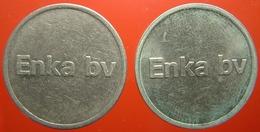 KB130-1 - ENKA BV - Emmen - WM 22.5mm - Koffie Machine Penning - Coffee Machine Token - Firma's