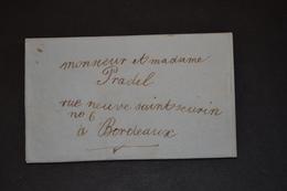 Lettre 1840 BOUILLAC Pour BORDEAUX - 1801-1848: Précurseurs XIX