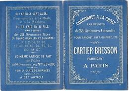 Livret Pour Crochet Cartier-Bresson - Unclassified