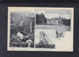 Dt. Reich AK Luftkurort Breitenbronnen 1907 - Sasbach