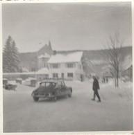 D S - Citroen : à La Neige : à Définir ( Format 9,5cm X 9,5cm ) - Auto's