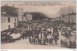 RODENSAC  MAISON LILLET - CONVOI DE SAUTERNES RECOLTE 1903 CAFE RESTAURANT DE L'AVENIR PRESENCE DES VIGNERONS  TBE - Francia