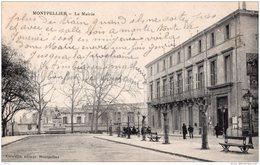 MONTPELLIER LA MAIRIE 1918 TBE - Montpellier