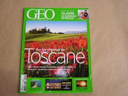 GEO Magazine N° 412 Géographie Voyage France Monde Italie Médiévale Toscane Amérique Porto Rico Nigéria Pétrole Islande - Tourisme & Régions