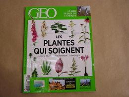 GEO Magazine N° 414 Géographie Voyage France Monde Plantes Qui Soignent Botanique Brésil Corée Du Sud Mer Jade Afrique - Tourisme & Régions