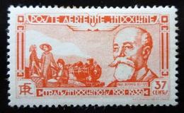 1938 Indochine Yt PA15 . Paul Doumer (1857-1932) Neuf Trace Charnière - Neufs