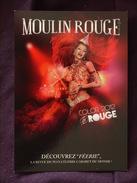 LE MOULIN ROUGE MONTMARTRE COLOR 2012 ROUGE FEERIE - Arrondissement: 18