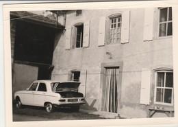 204 - Peugeot : Retour D'achats Alimentaires : ( Format 12,7cm X 9cm ) - Auto's