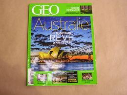 GEO Magazine N° 416 Géographie Voyage Monde Australie Ethnies Nigéria Volcan Forêts De France Arbres Afrique - Tourisme & Régions