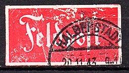 Feldpost HALBERSTADT 20.11.1943 (637) - Occupation 1938-45