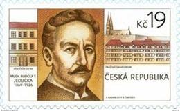 2019 : Pr Rudolf JEDRICKA (1869-1926) Physicien Créateur De L' Imagerie Médicale Tchèque ( Rayon X ) - Neufs