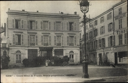 Cp Niort Deux Sèvres, Grand Hotel De France - Francia