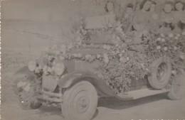 Automobile à Définir : Décorée Pour Le Corso : ( Format 13,7cm X 9cm ) - Auto's