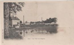 CPA 70. LURE. Pont Sur L'Ognon - Lure