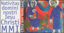 Vatikan-Markenheftchen 0-9 Weihnachten 2001, ** - Markenheftchen