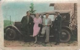 Torpédo : Automobile Ancienne :  1920 : Colorisée : ( Format 11,5cm X 7,3cm ) - Cars