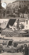 01 - 7 Cartes Postales Photos Bromure  Ancienne De La Fète Des Fleurs à OYONNAX - Oyonnax