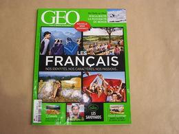 GEO Magazine N° 420 Géographie Voyage Monde Inde Tibet Canada Yukon Savoie Maroc Trafic De Sable Ecole Militaire - Tourisme & Régions