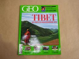GEO Magazine N° 421 Géographie Voyage Monde Inde Tibet Bouddhisme Gascogne Rwanda Italie Russie Briqtol Angleterre - Tourisme & Régions