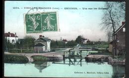 45, Grignon, Vue Sur Les Ecluses - France