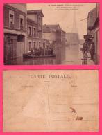 CARTE  POSTALE ANCIENNE PARIS - PARIS INONDE - 28 JANVIER 1910 -RUE ST CHARLES - Inondations