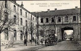 Cp Saint Mihiel Meuse, Gendarmerie Et Tribunal - Frankrijk