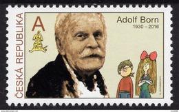 2019 : Tradition Du Timbre Gravé : Adolf BORN (1930-2016) - Neufs