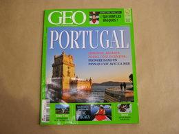 GEO Magazine N° 425 Géographie Voyage Monde Portugal Lisbonne Algarve Texas Etats Unis Lac Titicaca Pérou Brésil Basque - Tourisme & Régions