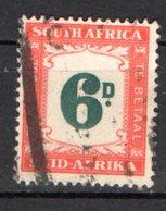 Afrique Du Sud Scott 1 Timbre Taxe...oblitérés - Afrique Du Sud (1961-...)